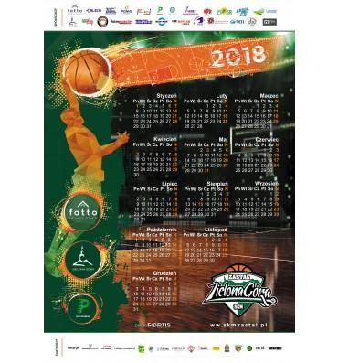 Kalendarz ścienny 2018 SKM Zastal